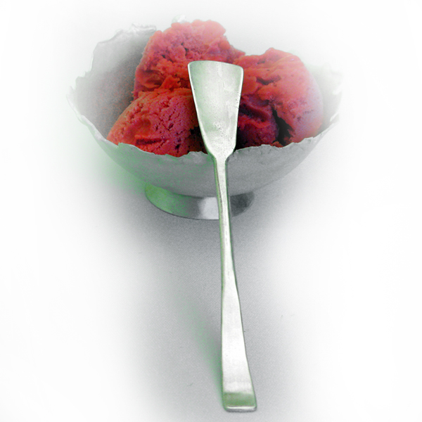 ice cream spoon, fused