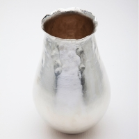 vase with fused edge