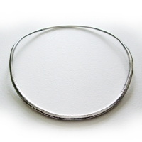 silver necklet