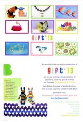 GIFT 13 flyer